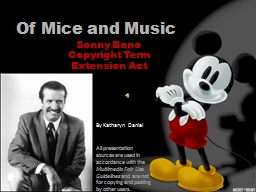 Of Mice and Music PowerPoint PPT Presentation