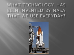 technology invented by nasa - photo #13