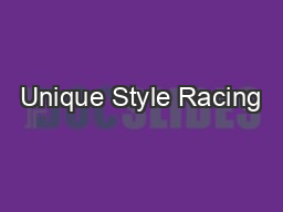 Unique Style Racing