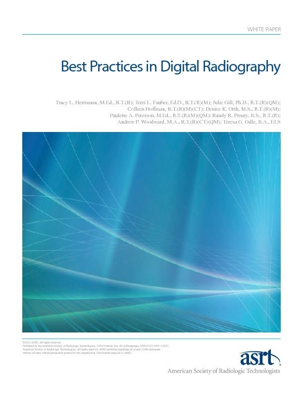 Best Practices in Digital Radiography PowerPoint PPT Presentation