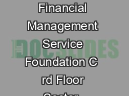 CHAIRPERSON ROLES AND RESPONSIBILITIES Financial Management Service Foundation C  rd Floor Sector  NOIDA   Ph  Fax  Email fmsffmsfindia