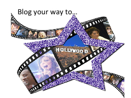 Blog your way