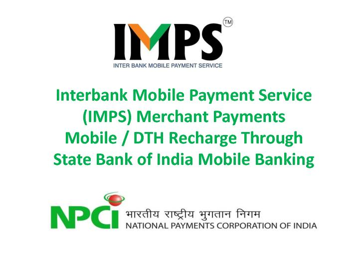 Mobile Payment Service