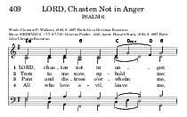 vil oer leave whelm hold an me me me ger who and to chas All Pain Turn LORD tress now not up in love dis me ten LORD Chasten Not in Anger  Words Clarence P PDF document - DocSlides