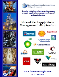Creating global growth opportunities through strategic supp
