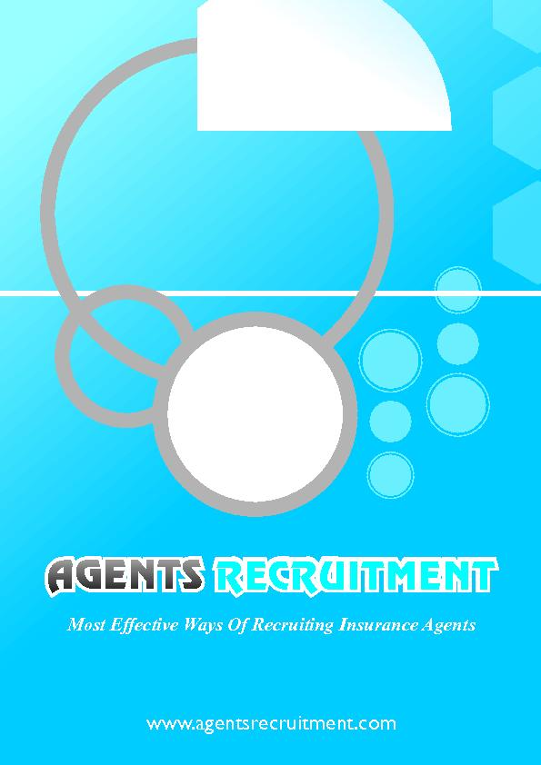 www.agentsrecruitment.comMost Effective Ways Of Recruiting Insurance A