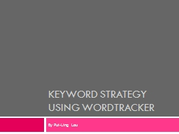 keyword strategy using