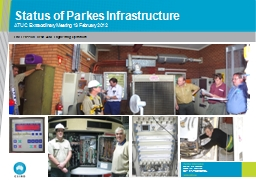 Status of Parkes Infrastructure