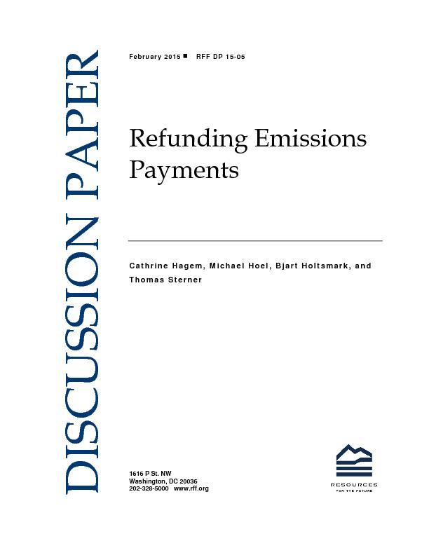 Refunding Emissions Payments