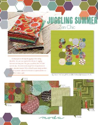 JUGGLING SUMMER         Big Wheel  ZC BWQP ZC BWQPG Finished Quilt Measures  x   JUGGLING SUMMER Zen Chic Big Wheel  ZC BWQP ZC BWQPG Finished Quilt Measures  x  Overlaying laces dancing balls juggli