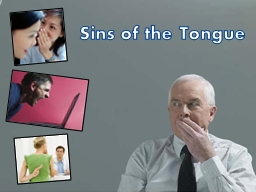 Sins of the Tongue