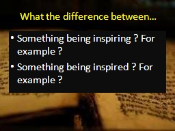 What the difference between… PowerPoint PPT Presentation