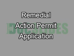 Remedial Action Permit Application – Soil Addendum B Page 2 of 2