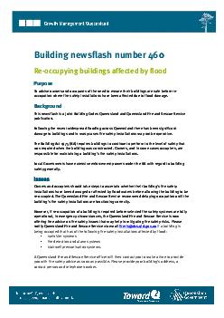 Building newsflash number 460 0 Purpose Purpose To advise owners and o