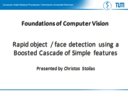 Foundations PowerPoint PPT Presentation