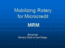 Mobilizing Rotary
