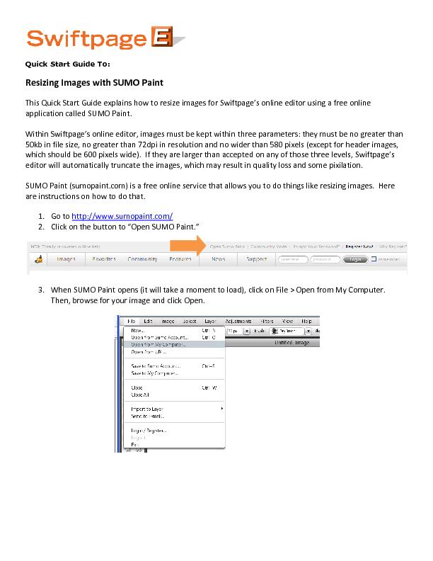 Quick Start Guide To: PowerPoint PPT Presentation