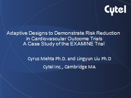 Adaptive Designs to Demonstrate Risk Reduction