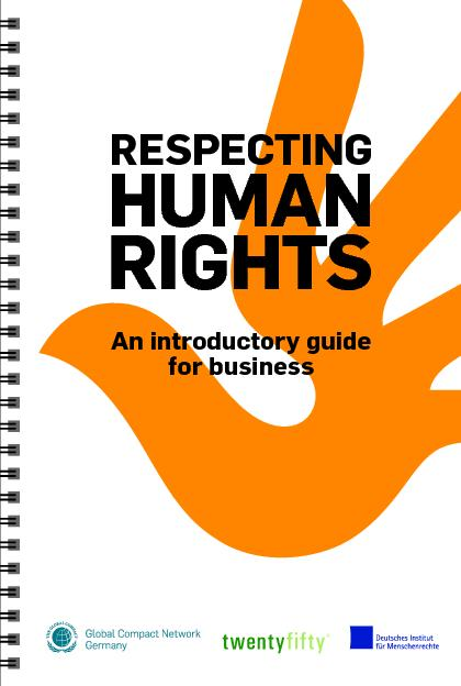 An introductory guide for businessRESPECTINGHUMIGHTS