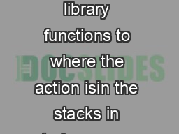 OYMkkKYq aY irca frees library staff to bring core library functions to where the action isin the stacks in study areas or in the reshelving area