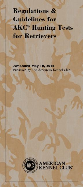 Complete text of booklet available at: www.akc.orgTo order booklet(s),