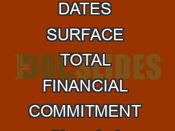 CITY COUNTRY TOURNAMENT DATES SURFACE TOTAL FINANCIAL COMMITMENT Shanghai China