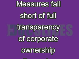 EU Member States agree to clamp down on money laundering loopholes Measures fall short of full transparency of corporate ownership Brussels  June  EU Member States agreed their common position on the