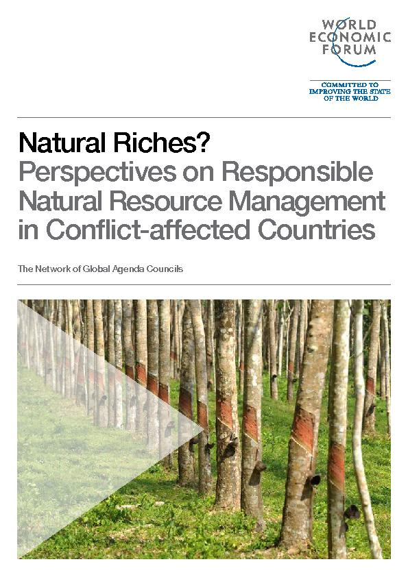 Natural Riches? Perspectives on Responsible Natural Resource Managemen