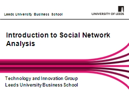 Introduction to Social Network