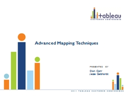 Advanced Mapping Techniques PowerPoint PPT Presentation