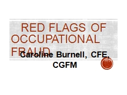 Red Flags of