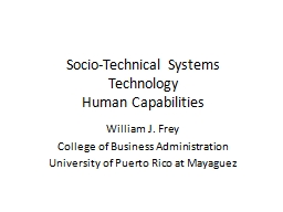 socio technical systems approach Socio-technical theory  legitimate by design: towards trusted socio-technical systems  a link to almost 500 publications about the socio-technical approach.
