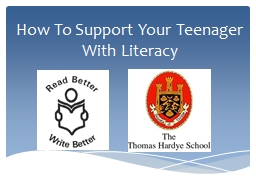 How To Support Your Teenager With Literacy