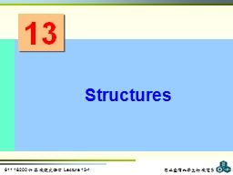 13 Structures