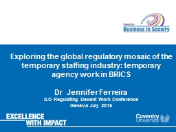 Exploring the global regulatory mosaic of the temporary sta