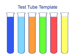 Test Tube Template