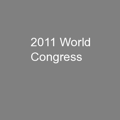 2011 World Congress