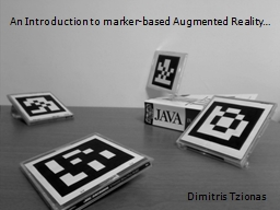 An Introduction to marker-based Augmented Reality…