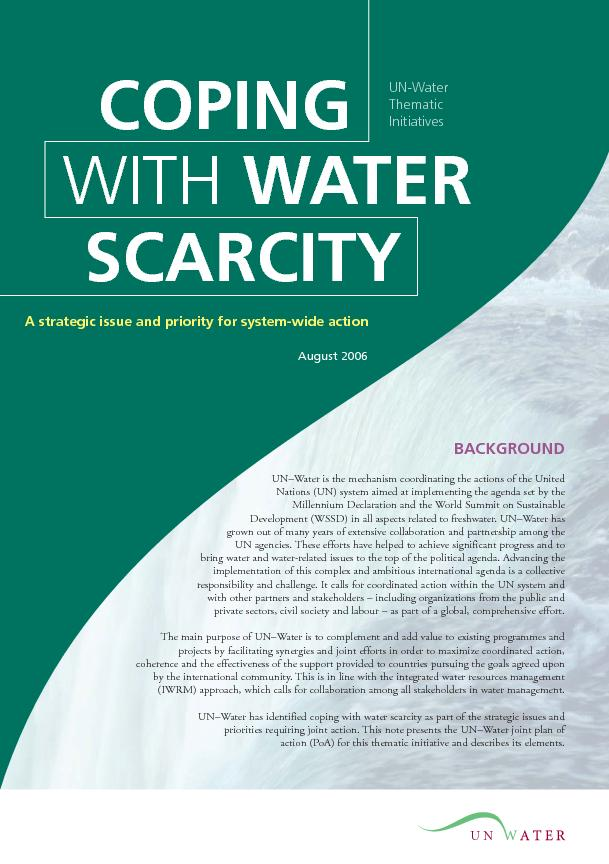 COPINGWITH SCARCITY