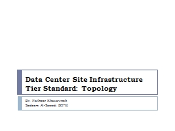 Data Center Site Infrastructure PowerPoint PPT Presentation