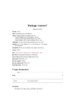 Package convert March   Version