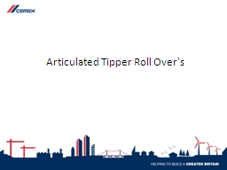 Articulated Tipper Roll Over's