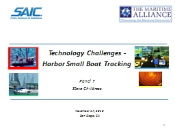 Technology Challenges -