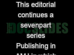FROM THE EDITORS PUBLISHING IN AMJ PART  DISCUSSING THE IMPLICATIONS This editorial continues a sevenpart series Publishing in AMJ in which the editors give suggestions and advice for improving the q