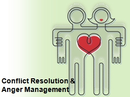 Conflict Resolution &