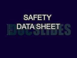 saftey data sheet for painting pdf