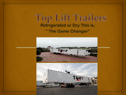 Top Lift Trailers