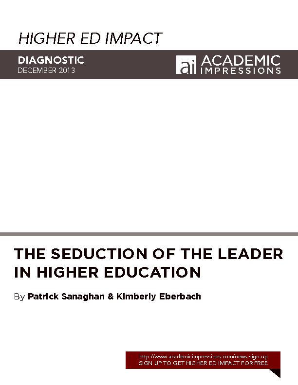 HIGHER ED IMPACT