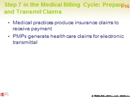 Step 7 in the Medical Billing Cycle: Prepare and Transmit C