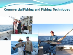 Commercial Fishing and